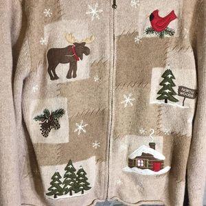 croft & barrow Sweaters - Croft & Barrow Christmas Sweater Small
